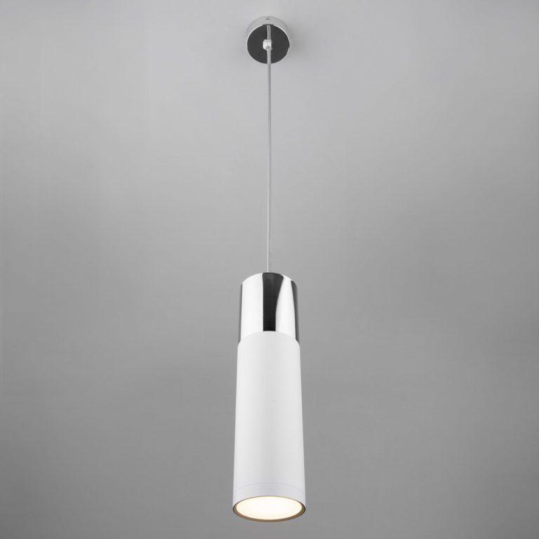 Подвесной светильник 50135/1 LED хром/белый