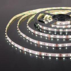 Светодиодная лента 2835/60Led 4,8W IP20 холодный белый свет 6500K