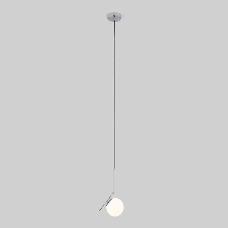 Подвесной светильник с длинным тросом 1,8м 50159/1 хром