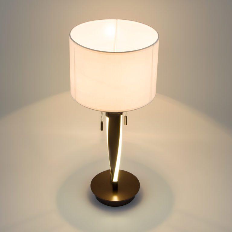 Настольная лампа со светодиодной подсветкой 991