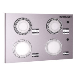 Секция сборного стенда для встраиваемых светильников Downlight a045280
