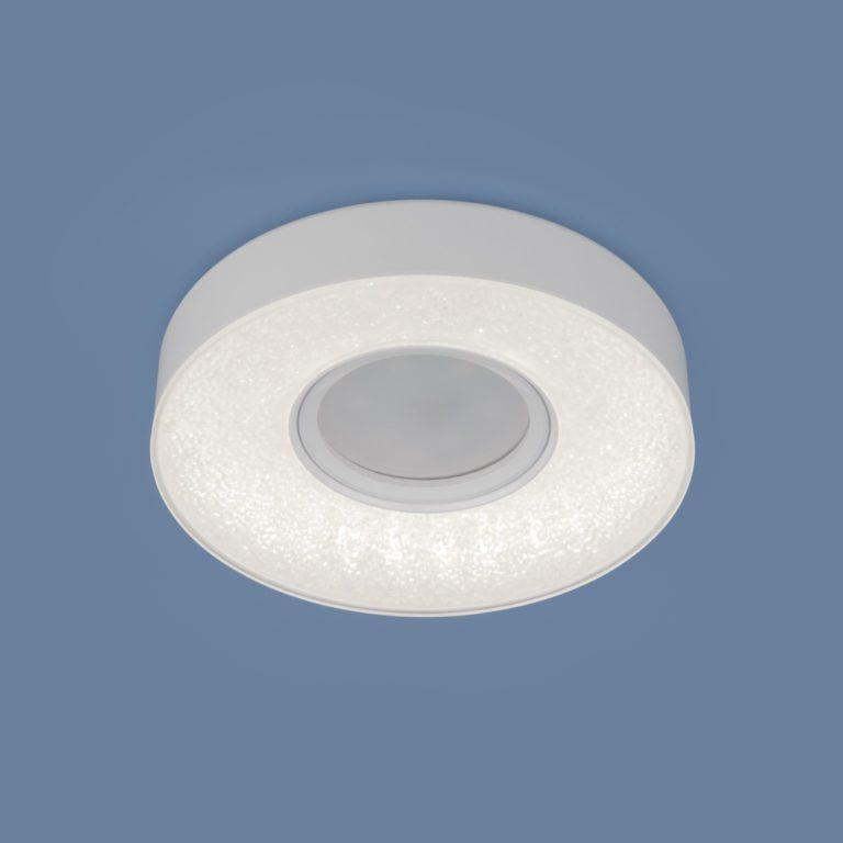 Встраиваемый точечный светильник со светодиодной подсветкой 2241 MR16 WH белый