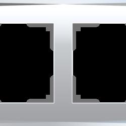 Рамка на 4 поста (зеркальный) WL08-Frame-04