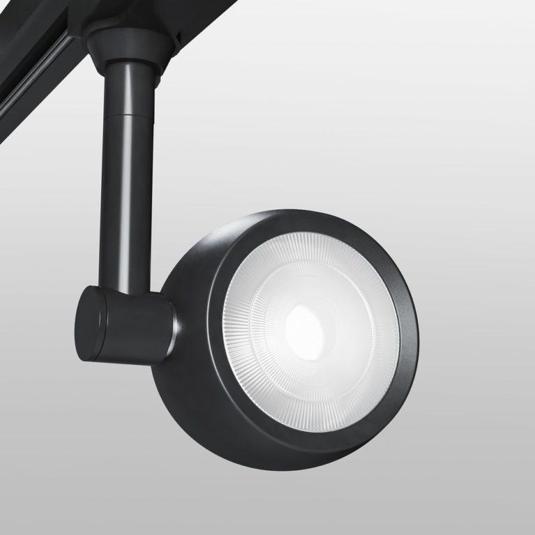 Трековый светодиодный светильник для однофазного шинопровода Oriol черный 12W 4200K LTB48