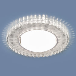 Встраиваемый точечный светильник с LED подсветкой 3035 GX53