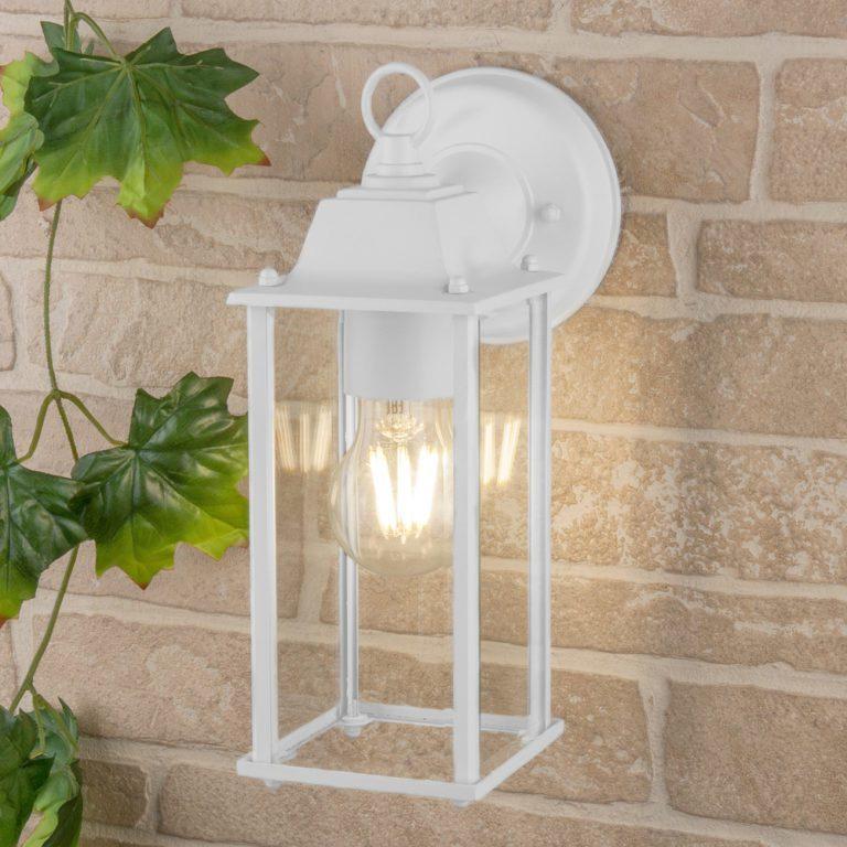 Brick белый уличный настенный светильник GL 1008D