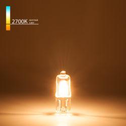 Лампа галогенная G4 220 В 35 Вт сверхъяркая
