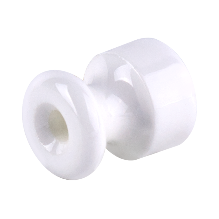 Изолятор 10 шт. (белый) Ретро WL18-17-01