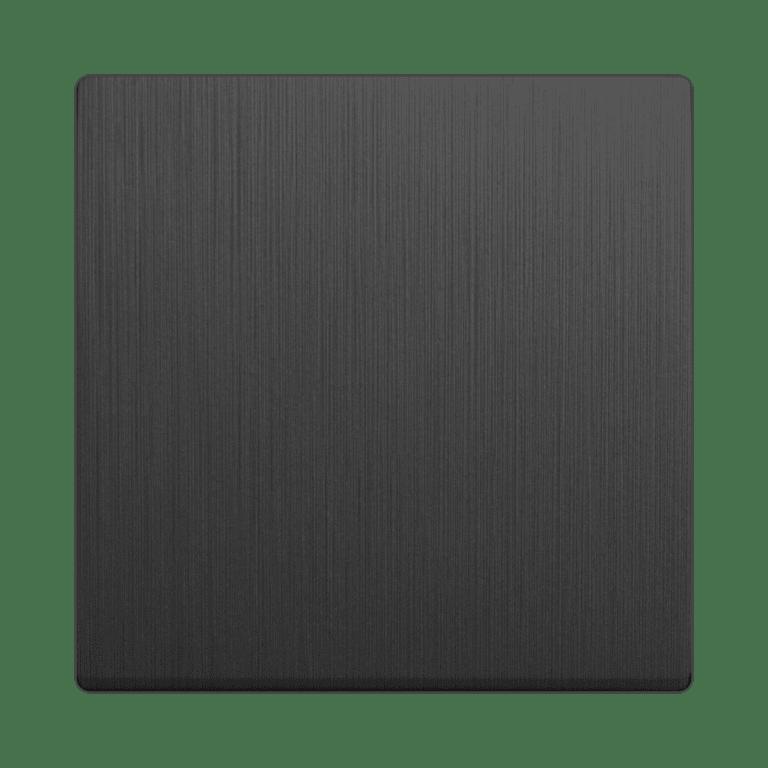 Клавиша для выключателя перекрестного (графит рифленый) WL04-SW-1G-C-CP