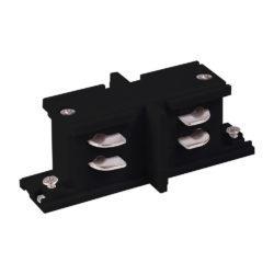 Коннектор прямой внутренний для трехфазного шинопровода черный TRC-1-3-II-BK