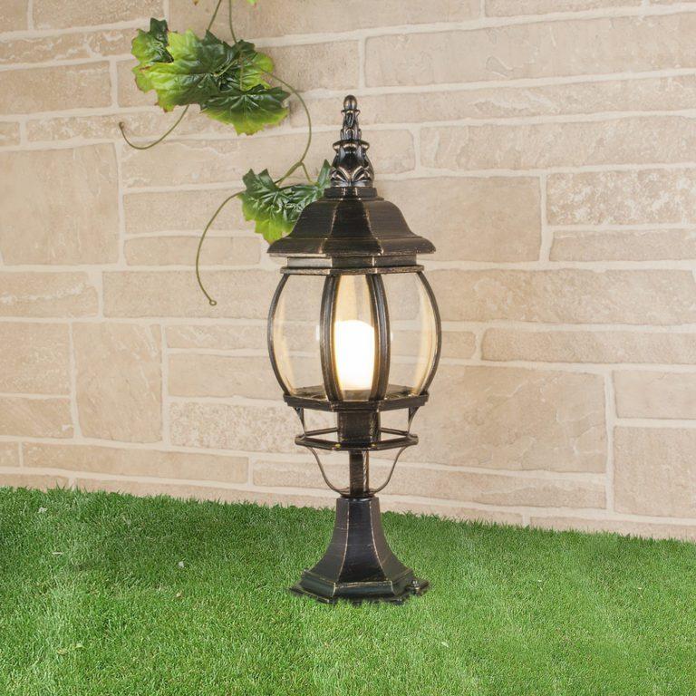 Ландшафтный светильник IP33 GL 1001S черное золото