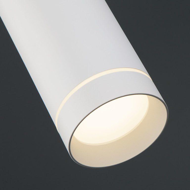 Светодиодный подвесной светильник DLR023 белый