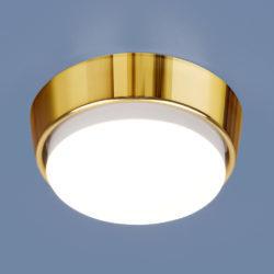 Накладной потолочный светильник 1037 GX53 GD золото