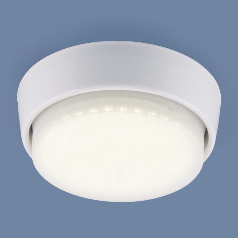 Накладной потолочный светильник 1037 GX53 WH белый