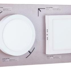 Секция сборного стенда для накладных светильников Downlight a036163