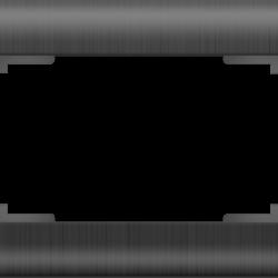 Рамка для двойной розетки (графит) WL12-Frame-01-DBL