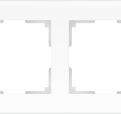 Рамка на 4 поста (белый матовый) WL01-Frame-04