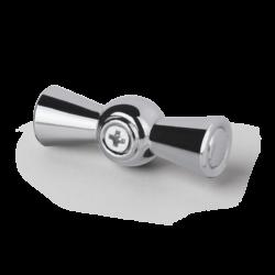 Ручка  выключателя 2 шт. (хром) Ретро WL18-20-01