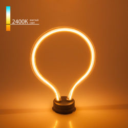 Декоративная контурная лампа Art filament 4W 2400K E27 BL150