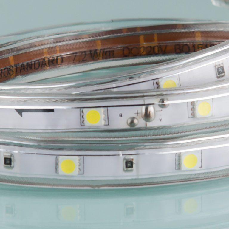 Светодиодная лента LSTR003 220V 14,4W IP65 белый 6500К