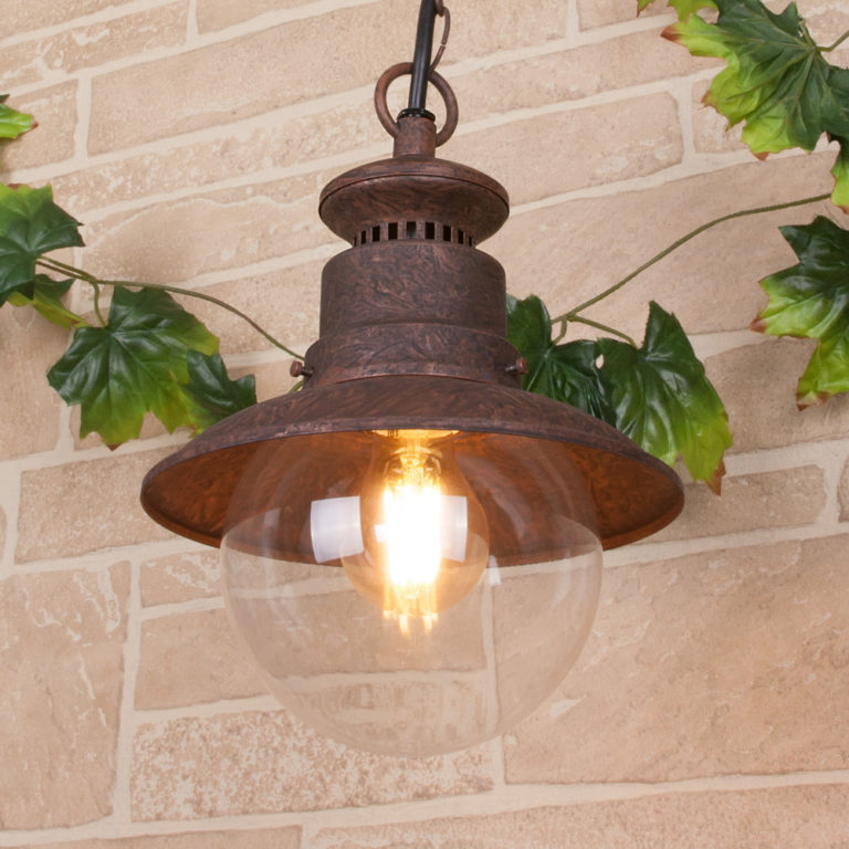 Talli H брауни уличный подвесной светильник IP44 GL 3002H