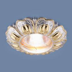 Точечный светильник 7215 MR16 PSG перламутровый/золото