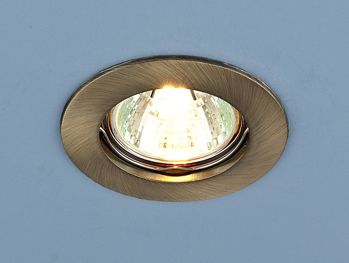 Точечный светильник 863 MR16 SB бронза