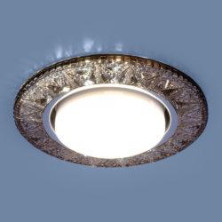 Точечный светодиодный светильник 3022 GX53 GC тонированный