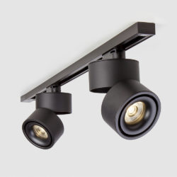 Трековый светодиодный светильник для однофазного шинопровода Klips Черный 15W 4200K LTB21