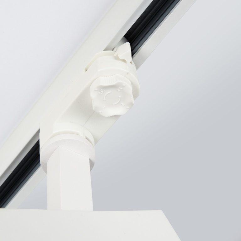 Трековый светодиодный светильник для трехфазного шинопровода Vista Белый 32W 3300K LTB15