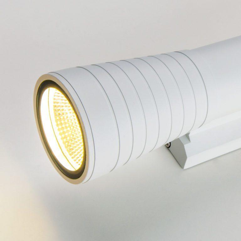 Tube double белый уличный настенный светодиодный светильник 1502 TECHNO LED