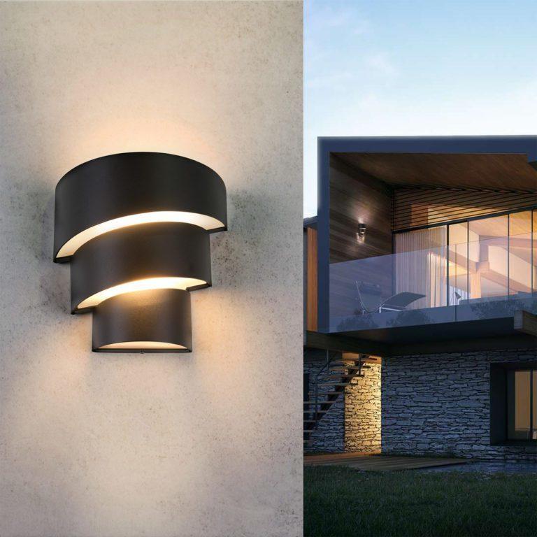 HELIX черный Светодиодная архитектурная подсветка 1535 TECHNO LED