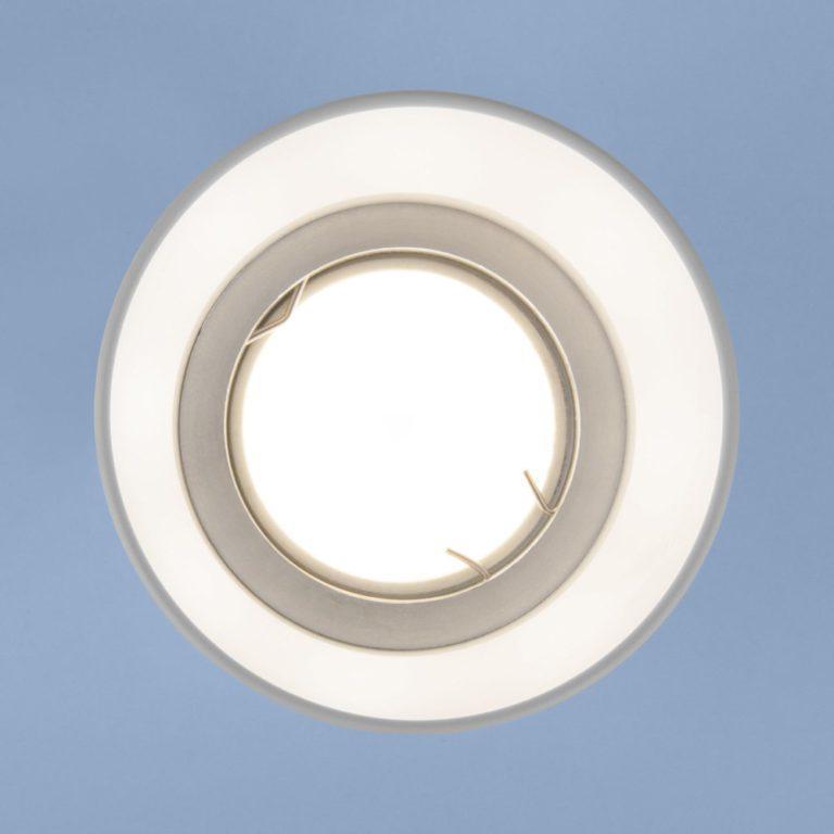 Встраиваемый точечный светильник 6073 MR16 WH белый