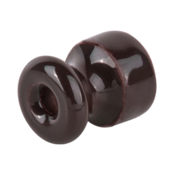 Изолятор без винта 100 шт. (коричневый) Ретро WL18-17-02