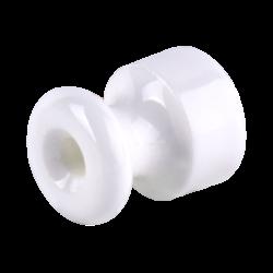 Изолятор без винта 50 шт. (белый) Ретро WL18-17-02