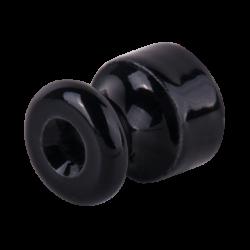 Изолятор без винта 50 шт. (черный) Ретро WL18-17-02