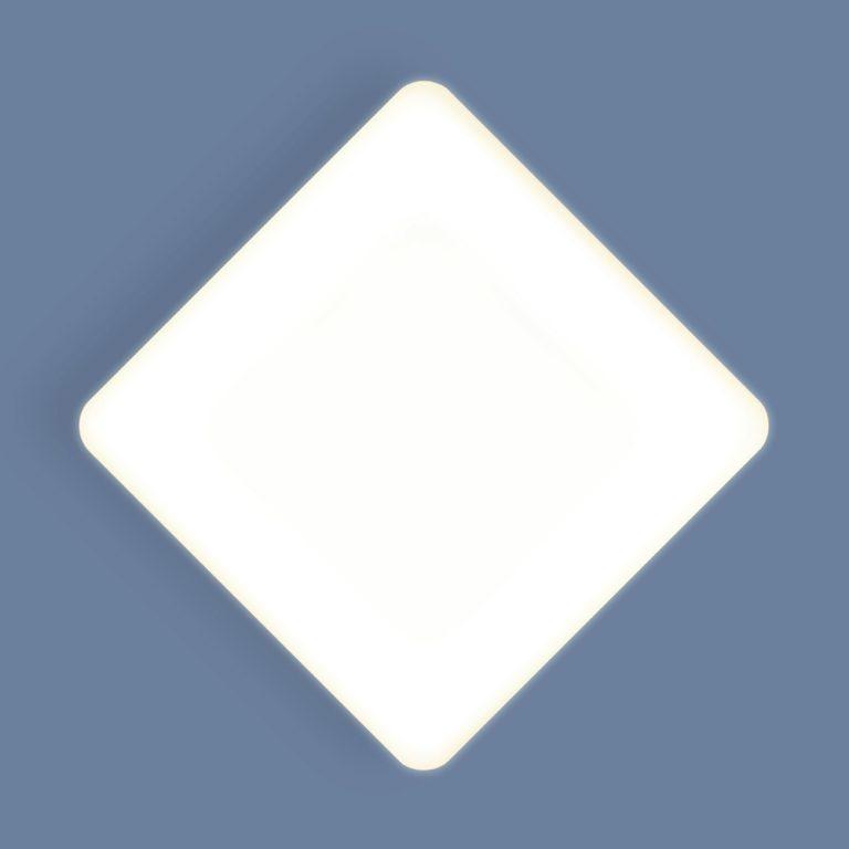 Накладной потолочный светодиодный светильник DLS043