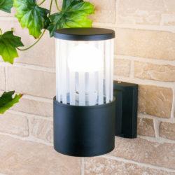 Уличный настенный светильник 1410 TECHNO чёрный