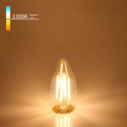 "Филаментная светодиодная лампа ""Свеча"" C35 9W 3300K E27 BLE2733"