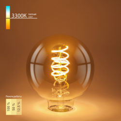 Филаментная светодиодная лампа Dimmable 5W 2700K E27 BL161