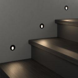 Подсветка для лестниц MRL LED 1101 чёрный