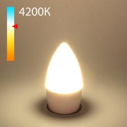 "Светодиодная лампа ""Свеча"" C37 8W 4200K E27 BLE2716"