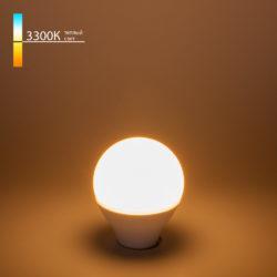 Светодиодная лампа G45 7W 3300K E14 BLE1405