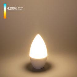 "Светодиодная лампа ""Свеча"" C37 6W 4200K E14 BLE1422"