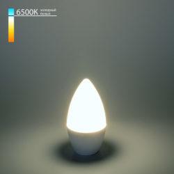 "Светодиодная лампа ""Свеча"" C37 6W 6500K E14 BLE1423"
