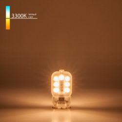 Светодиодная лампа JCD 3W 220V 3300K G9 BLG906