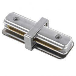 Коннектор прямой для однофазного шинопровода (серебристый) TRC-1-1-I-CH