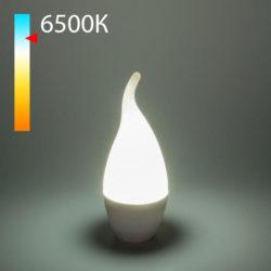 """Светодиодная лампа """"Свеча на ветру"""" CA37 8W 6500K E14 BLE1433"""