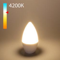 "Светодиодная лампа ""Свеча"" C37 8W 4200K E14 BLE1403"