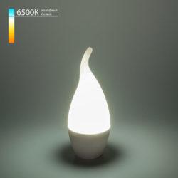 """Светодиодная лампа """"Свеча на ветру"""" CA37 6W 6500K E14 BLE1420"""